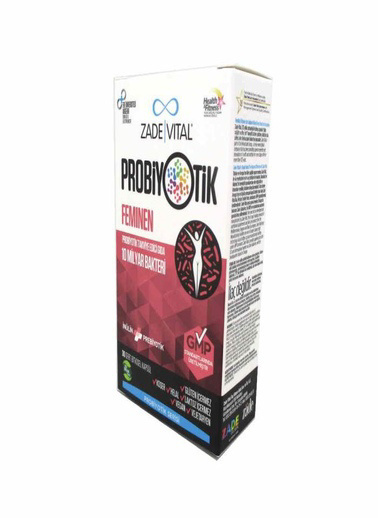Zade Vital Zade Vital Probiotics Feminen 30 Kapsül Renksiz